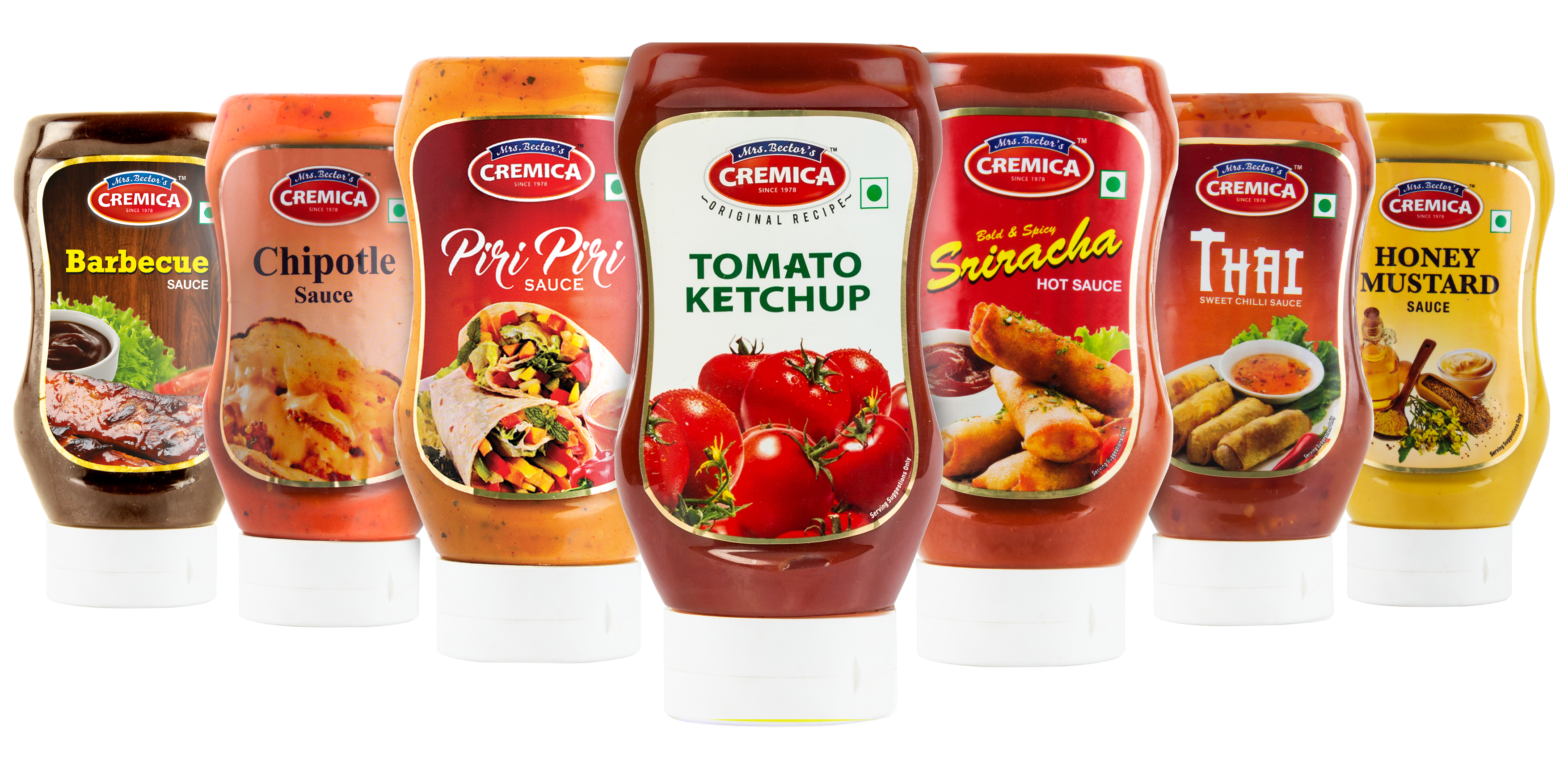 Cremica - Mayonnaise, Salad Dressings, Sauces, Ketchups and